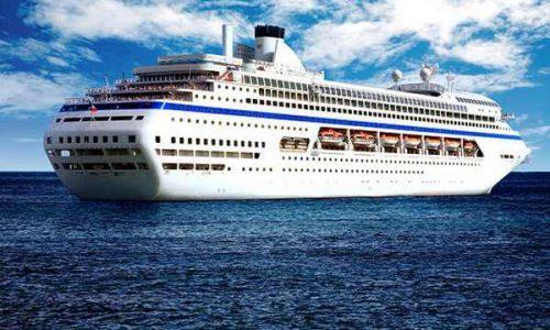 cruise in beautiful sea